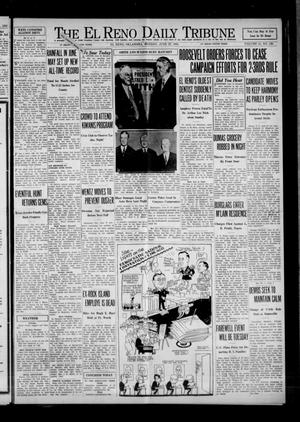 Primary view of object titled 'The El Reno Daily Tribune (El Reno, Okla.), Vol. 41, No. 126, Ed. 1 Monday, June 27, 1932'.