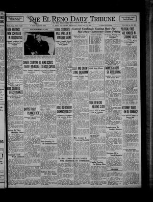 Primary view of object titled 'The El Reno Daily Tribune (El Reno, Okla.), Vol. 44, No. 297, Ed. 1 Thursday, February 13, 1936'.