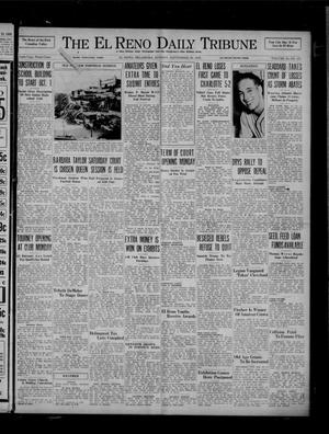 Primary view of object titled 'The El Reno Daily Tribune (El Reno, Okla.), Vol. 45, No. 171, Ed. 1 Sunday, September 20, 1936'.