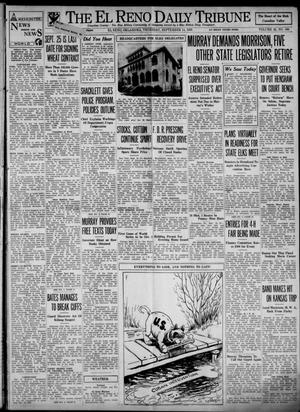 Primary view of object titled 'The El Reno Daily Tribune (El Reno, Okla.), Vol. 42, No. 168, Ed. 1 Thursday, September 14, 1933'.