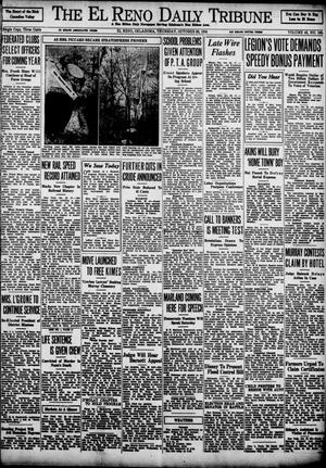 Primary view of object titled 'The El Reno Daily Tribune (El Reno, Okla.), Vol. 43, No. 166, Ed. 1 Thursday, October 25, 1934'.