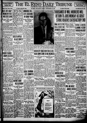 Primary view of object titled 'The El Reno Daily Tribune (El Reno, Okla.), Vol. 43, No. 144, Ed. 1 Sunday, September 23, 1934'.