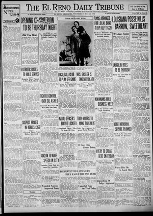 Primary view of object titled 'The El Reno Daily Tribune (El Reno, Okla.), Vol. 43, No. 69, Ed. 1 Wednesday, May 23, 1934'.