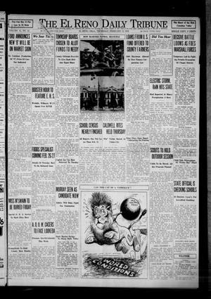 Primary view of object titled 'The El Reno Daily Tribune (El Reno, Okla.), Vol. 41, No. 10, Ed. 1 Thursday, February 11, 1932'.