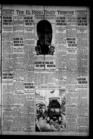 Primary view of object titled 'The El Reno Daily Tribune (El Reno, Okla.), Vol. 38, No. 222, Ed. 1 Tuesday, June 24, 1930'.