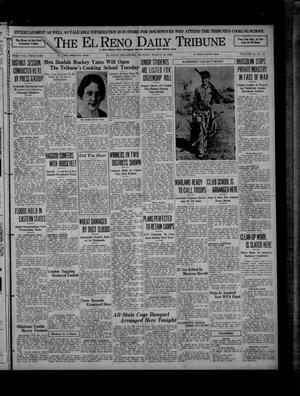 Primary view of object titled 'The El Reno Daily Tribune (El Reno, Okla.), Vol. 45, No. 18, Ed. 1 Monday, March 23, 1936'.