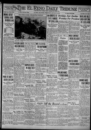 Primary view of object titled 'The El Reno Daily Tribune (El Reno, Okla.), Vol. 43, No. 246, Ed. 1 Wednesday, January 30, 1935'.