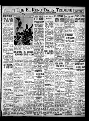 Primary view of object titled 'The El Reno Daily Tribune (El Reno, Okla.), Vol. 44, No. 96, Ed. 1 Wednesday, August 7, 1935'.