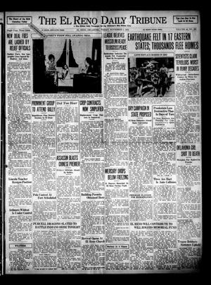 Primary view of object titled 'The El Reno Daily Tribune (El Reno, Okla.), Vol. 44, No. 209, Ed. 1 Friday, November 1, 1935'.