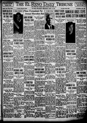 Primary view of object titled 'The El Reno Daily Tribune (El Reno, Okla.), Vol. 43, No. 140, Ed. 1 Wednesday, September 19, 1934'.
