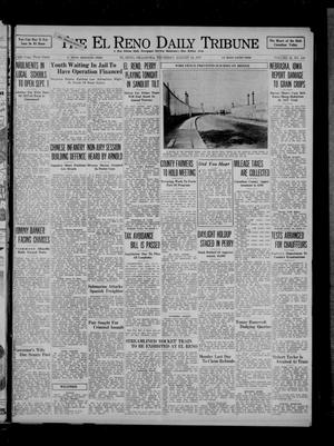 Primary view of object titled 'The El Reno Daily Tribune (El Reno, Okla.), Vol. 46, No. 143, Ed. 1 Thursday, August 19, 1937'.