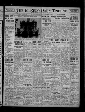 Primary view of object titled 'The El Reno Daily Tribune (El Reno, Okla.), Vol. 45, No. 165, Ed. 1 Sunday, September 13, 1936'.