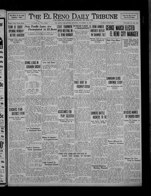Primary view of object titled 'The El Reno Daily Tribune (El Reno, Okla.), Vol. 46, No. 192, Ed. 1 Sunday, October 17, 1937'.