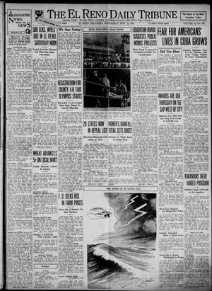 Primary view of object titled 'The El Reno Daily Tribune (El Reno, Okla.), Vol. 42, No. 167, Ed. 1 Wednesday, September 13, 1933'.