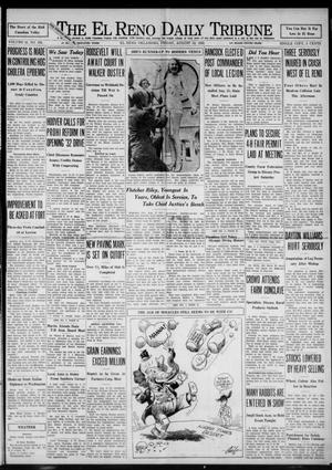 Primary view of object titled 'The El Reno Daily Tribune (El Reno, Okla.), Vol. 41, No. 165, Ed. 1 Friday, August 12, 1932'.