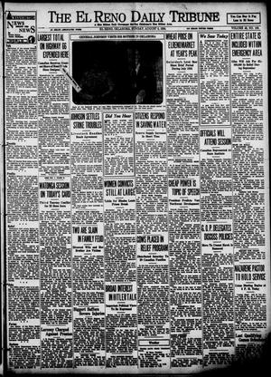 Primary view of object titled 'The El Reno Daily Tribune (El Reno, Okla.), Vol. 43, No. 103, Ed. 1 Sunday, August 5, 1934'.