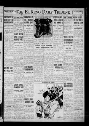 Primary view of The El Reno Daily Tribune (El Reno, Okla.), Vol. 41, No. 108, Ed. 1 Monday, June 6, 1932