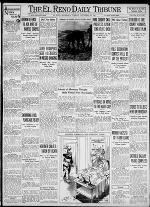 Primary view of object titled 'The El Reno Daily Tribune (El Reno, Okla.), Vol. 42, No. 232, Ed. 1 Tuesday, November 28, 1933'.