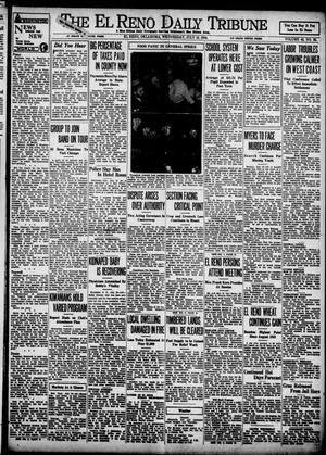 Primary view of object titled 'The El Reno Daily Tribune (El Reno, Okla.), Vol. 43, No. 88, Ed. 1 Wednesday, July 18, 1934'.
