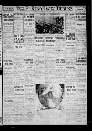 Primary view of object titled 'The El Reno Daily Tribune (El Reno, Okla.), Vol. 41, No. 53, Ed. 1 Thursday, March 31, 1932'.