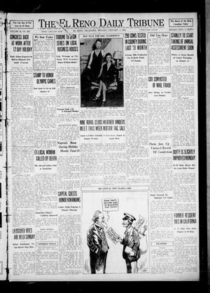 Primary view of object titled 'The El Reno Daily Tribune (El Reno, Okla.), Vol. 40, No. 289, Ed. 1 Monday, January 4, 1932'.