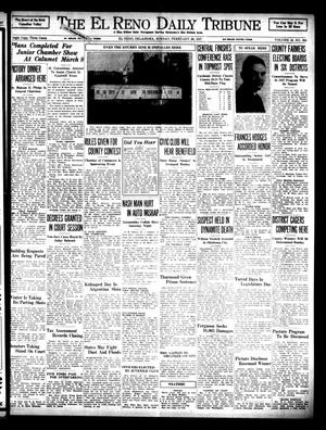 Primary view of object titled 'The El Reno Daily Tribune (El Reno, Okla.), Vol. 45, No. 308, Ed. 1 Sunday, February 28, 1937'.