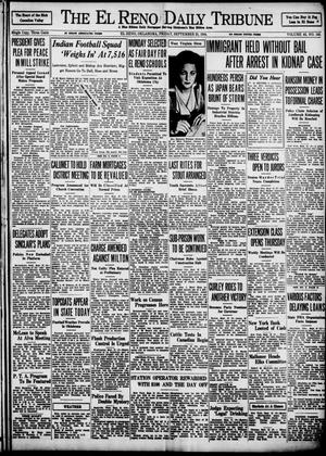 Primary view of object titled 'The El Reno Daily Tribune (El Reno, Okla.), Vol. 43, No. 143, Ed. 1 Friday, September 21, 1934'.