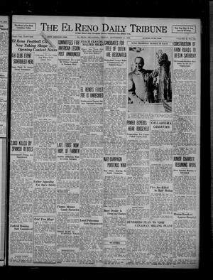 Primary view of object titled 'The El Reno Daily Tribune (El Reno, Okla.), Vol. 45, No. 164, Ed. 1 Friday, September 11, 1936'.