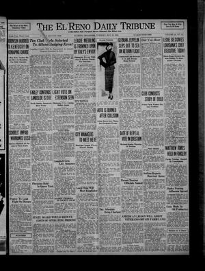 Primary view of object titled 'The El Reno Daily Tribune (El Reno, Okla.), Vol. 45, No. 61, Ed. 1 Tuesday, May 12, 1936'.