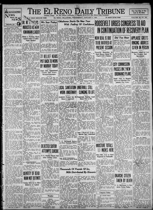 Primary view of object titled 'The El Reno Daily Tribune (El Reno, Okla.), Vol. 42, No. 262, Ed. 1 Wednesday, January 3, 1934'.