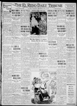 Primary view of object titled 'The El Reno Daily Tribune (El Reno, Okla.), Vol. 42, No. 251, Ed. 1 Wednesday, December 20, 1933'.