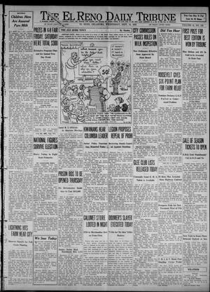 Primary view of object titled 'The El Reno Daily Tribune (El Reno, Okla.), Vol. 41, No. 193, Ed. 1 Wednesday, September 14, 1932'.