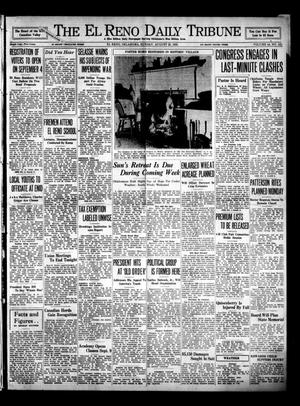 Primary view of object titled 'The El Reno Daily Tribune (El Reno, Okla.), Vol. 44, No. 151, Ed. 1 Sunday, August 25, 1935'.