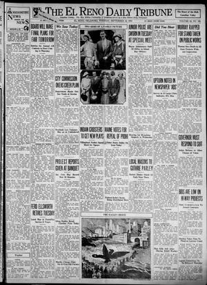 Primary view of object titled 'The El Reno Daily Tribune (El Reno, Okla.), Vol. 42, No. 166, Ed. 1 Tuesday, September 12, 1933'.