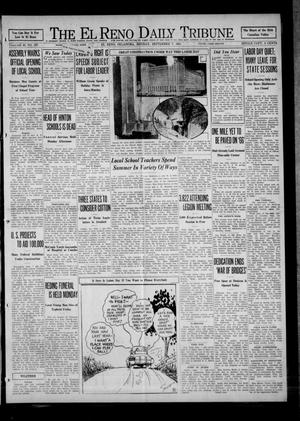 Primary view of object titled 'The El Reno Daily Tribune (El Reno, Okla.), Vol. 40, No. 187, Ed. 1 Monday, September 7, 1931'.