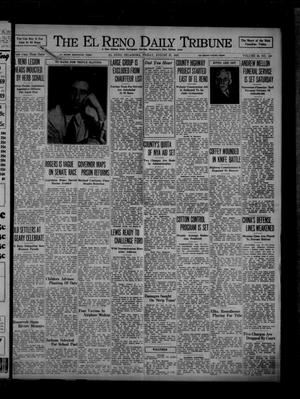 Primary view of object titled 'The El Reno Daily Tribune (El Reno, Okla.), Vol. 46, No. 150, Ed. 1 Friday, August 27, 1937'.