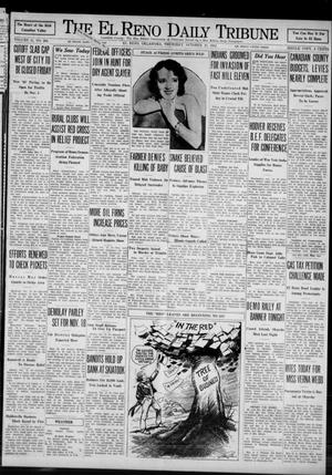 Primary view of object titled 'The El Reno Daily Tribune (El Reno, Okla.), Vol. 41, No. 206, Ed. 1 Thursday, October 13, 1932'.