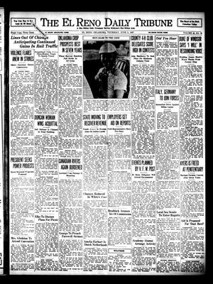 Primary view of object titled 'The El Reno Daily Tribune (El Reno, Okla.), Vol. 46, No. 78, Ed. 1 Thursday, June 3, 1937'.
