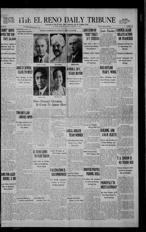 Primary view of The El Reno Daily Tribune (El Reno, Okla.), Vol. 38, No. 108, Ed. 1 Tuesday, February 11, 1930