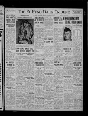 Primary view of object titled 'The El Reno Daily Tribune (El Reno, Okla.), Vol. 45, No. 176, Ed. 1 Friday, September 25, 1936'.