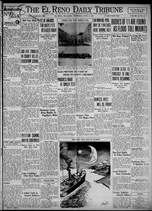 Primary view of object titled 'The El Reno Daily Tribune (El Reno, Okla.), Vol. 43, No. 28, Ed. 1 Thursday, April 5, 1934'.
