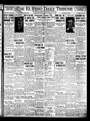 Primary view of object titled 'The El Reno Daily Tribune (El Reno, Okla.), Vol. 45, No. 296, Ed. 1 Sunday, February 14, 1937'.