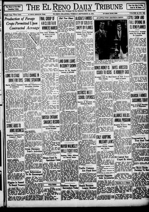 Primary view of object titled 'The El Reno Daily Tribune (El Reno, Okla.), Vol. 43, No. 140, Ed. 1 Tuesday, September 18, 1934'.