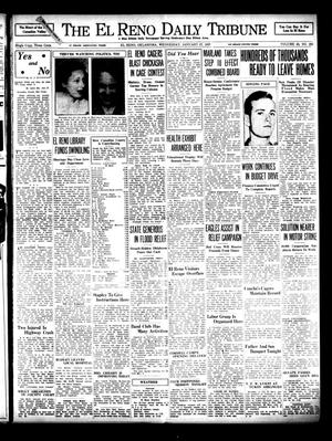Primary view of object titled 'The El Reno Daily Tribune (El Reno, Okla.), Vol. 45, No. 281, Ed. 1 Wednesday, January 27, 1937'.