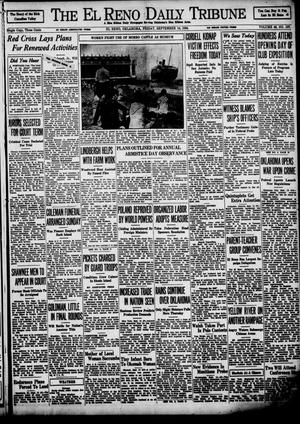Primary view of object titled 'The El Reno Daily Tribune (El Reno, Okla.), Vol. 43, No. 137, Ed. 1 Friday, September 14, 1934'.