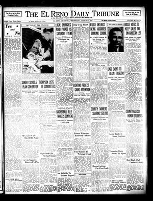 Primary view of The El Reno Daily Tribune (El Reno, Okla.), Vol. 46, No. 11, Ed. 1 Wednesday, March 17, 1937