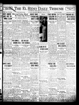 Primary view of object titled 'The El Reno Daily Tribune (El Reno, Okla.), Vol. 45, No. 306, Ed. 1 Thursday, February 25, 1937'.