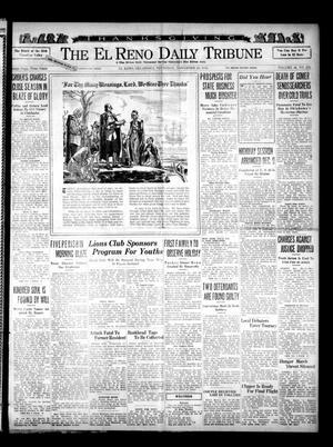 Primary view of The El Reno Daily Tribune (El Reno, Okla.), Vol. 44, No. 232, Ed. 1 Thursday, November 28, 1935