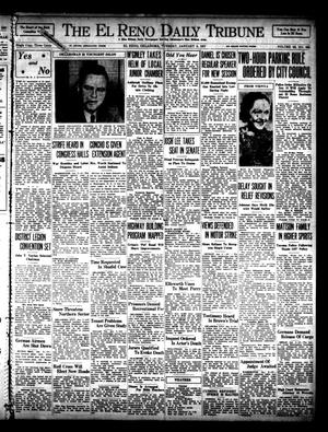Primary view of object titled 'The El Reno Daily Tribune (El Reno, Okla.), Vol. 45, No. 262, Ed. 1 Tuesday, January 5, 1937'.