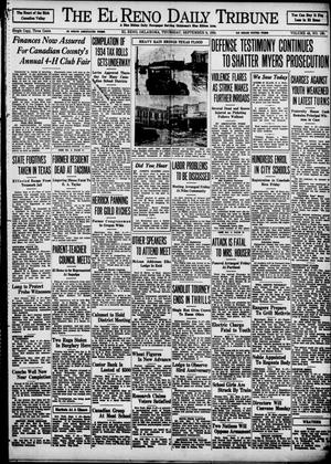 Primary view of object titled 'The El Reno Daily Tribune (El Reno, Okla.), Vol. 43, No. 130, Ed. 1 Thursday, September 6, 1934'.